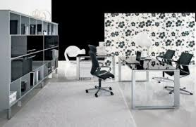 black white painting office designs black and white office design