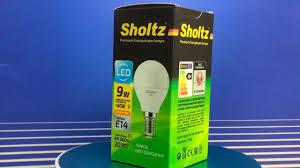 Тестирование и обзор <b>светодиодных ламп</b>: <b>Sholtz</b> 9 Вт E14 ...