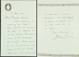 the cable and the code the nomination of principal sir james photograph of letter sent to professor irvine from robert munro secretary for scotland uyuy250