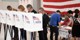 Image result for picture of an American voting booth