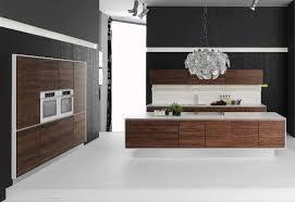modern kitchen setup: kitchen modern interior kitchen design feature modern furniture with wooden furniture material and white floor