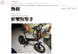 <b>SAMEBIKE 20LVXD30 Foldable</b> Electric Bicycle Aluminum 48V 10.4 ...