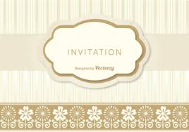 invitation template vector art 8431 s cute invitation template