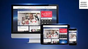 chris hadfield responsive web design zync website creation