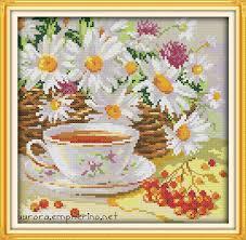 <b>Everlasting love Christmas</b> Afternoon tea Chinese cross stitch kits ...