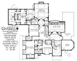 Rochester House Plan   House Plans by Garrell Associates  Inc     rochester house plan   nd floor plan