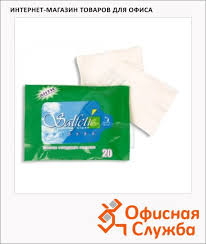<b>Салфетки влажные Salfeti антибактериальные</b> для рук 20шт ...