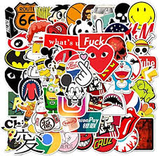 100 Pcs Fashion Brand Cool Stickers for Laptop ... - Amazon.com