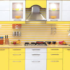 modular kitchen colors:  llaminates small