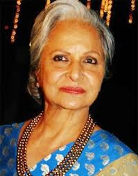 Waheeda Rehman Panaji, Nov 21 : The 40th edition of the International Film Festival of India (IFFI) will be inaugurated by veteran actress Waheeda Rehman at ... - Waheeda-Rehman