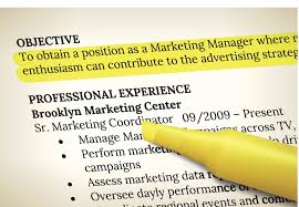resume profile vs resume objective resume objective