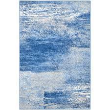 blue kitchen rugs