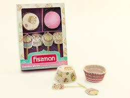 6604 FISSMAN <b>Набор для выпечки кексов</b> 50x32 мм – купить в ...