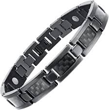 Titanium - Bracelets / Men: Jewelry - Amazon.ca