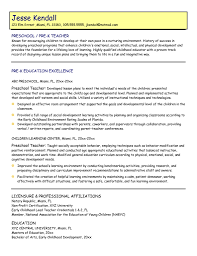 exciting teacher resume examples brefash examples of teaching resumes teacher resume example pdf by mplett preschool teacher resume objective examples high