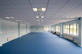 plain white suspended ceiling tile with cat 2 office lighting cat 2 office lighting