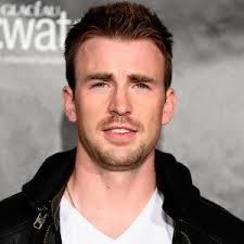 Chris Evans. Wouldn't it be great if there were a machine that made you into a superhero? You could walk in as a skinny wretch with chicken legs, ... - chris-evans-captain-america-03082011-medium_new