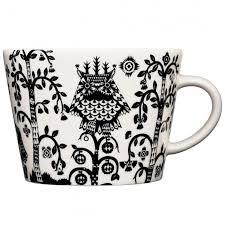 <b>Чашка кофейная Taika</b>, черная купить с нанесением логотипа ...