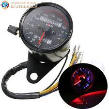 Online Shop DC <b>12V</b> Universal <b>Motorcycle Speedometer Odometer</b> ...