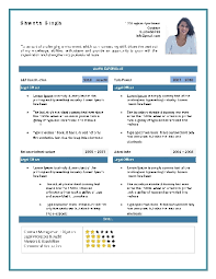 Aaaaeroincus Fetching Example Of A Written Resume Free Cv Writing Tips How To Write A With