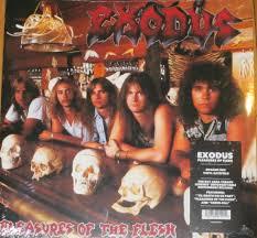 <b>Exodus</b> - <b>Pleasures of</b> The Flesh LP Ultra Ltd. Ed. Opaque Red Vinyl ...