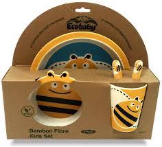 Купить <b>набор</b> детской <b>посуды Eco Baby</b> Пчёлка, цены в Москве ...