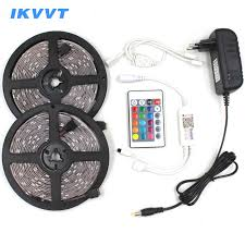 <b>IKVVT RGB LED</b> Strip Waterproof SMD5050 2835 Light Strip 12V ...