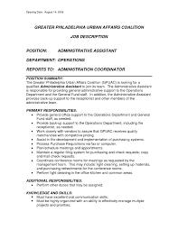 administrative assistant job description resumes template administrative assistant job description resumes examples of resumes for administrative positions