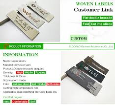 <b>Free Shipping Customized garment</b> labels / woven labels/clothing ...