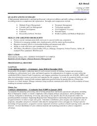 resume template customer service cv template volumetrics co resume skills examples list service summary of qualifications customer service key skills resume examples skills and