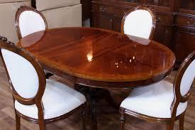 Mahogany Dining Room Sets Stunning Decor Innovative Decoration - Dining room tables oval