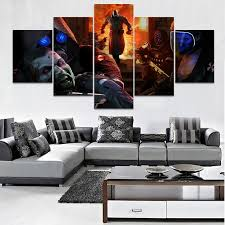 <b>5 Pieces</b> Game Resident Evil Poster <b>HD</b> Prints Modular <b>Pictures</b> For ...