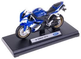 <b>Мотоцикл</b> Welly <b>Yamaha</b> YZF-R1 (12806P) 1:18 — купить по ...