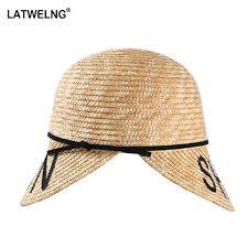 2019 <b>New</b> Brand Summer Straw Sun <b>Hats</b> Fashion Model Straw ...