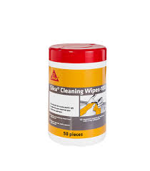 <b>Салфетки очищающие Sika</b> Cleaning Wipes-100 50 шт — купить ...