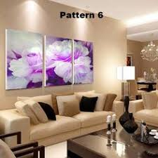 <b>No Frame 3pcs</b> Home Decorative Paintings On Canvas Abstract ...