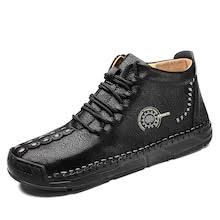 <b>SENBAO Men Boots</b> Fall Winter Mid-Top Trend Socks Shoes