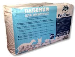 <b>Пеленки Pet Expert</b> впитывающие одноразовые для животных с ...