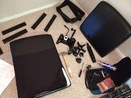 office furniture assembly assembling an ikea malkolm swivel chair before we got to assemble assembling ikea chair
