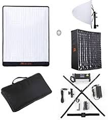 <b>Falcon Eyes</b> RX-18TD Flexible LED Video Panel Light 100W ...