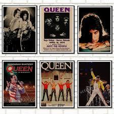 <b>Queen Band</b> Music Kraft Paper Poster Vintage High quality <b>Printing</b> ...