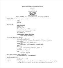 College Resume Template         Free Word  Excel  PDF Format     Dance teacher resume
