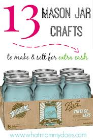 jar crafts home easy diy:  mason jar crafts to make and sell for extra cash