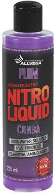 "<b>Ароматизатор</b> жидкий <b>ALLVEGA</b> ""<b>Nitro Liquid</b> Plum"" 250мл (СЛИВА)"