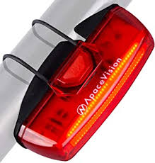 Red WIOR Rear <b>Bike</b> Light <b>USB</b> Rechargeable <b>Bicycle Tail Light</b> ...