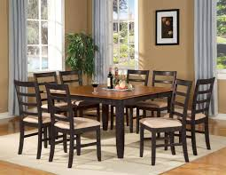 dining room tables chairs square: dining room black dining room table with wood top and chairs for  dining