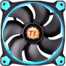 Thermaltake <b>Riing 12 LED</b> 120mm <b>Radiator</b> Cooling Fan Blue CL ...