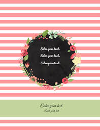 notebook cover template anuvrat info binder cover templates