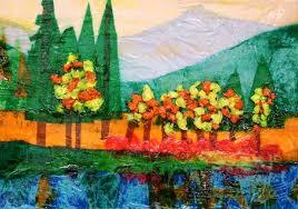 land scape collage | Tissue <b>Collage landscape</b> | <b>Collage landscape</b> ...