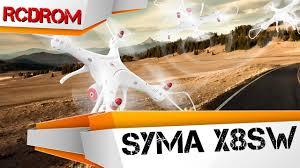 Лучший <b>квадрокоптер</b> для новичка <b>Syma X8SW</b>. Обзор ...